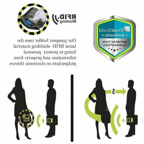 RFID Blocking Travel Wallet Neck