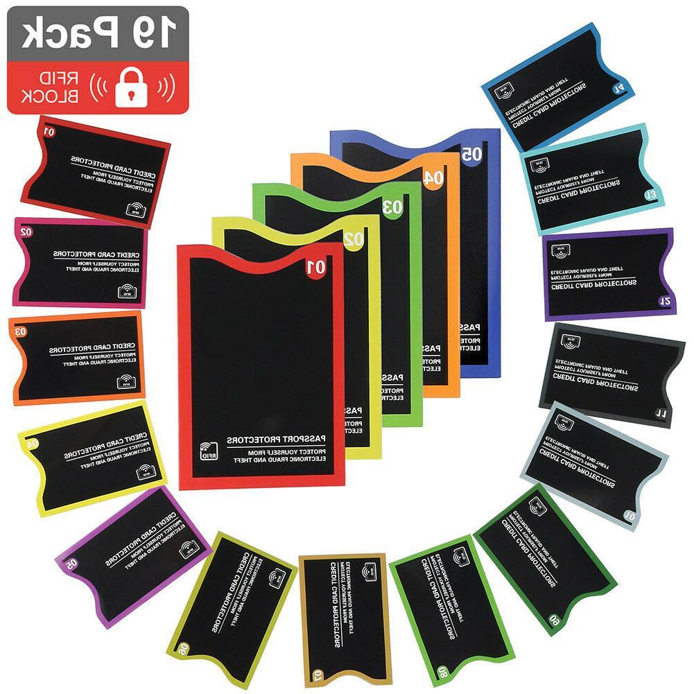 RFID Sleeve Credit 5 Passport Theft