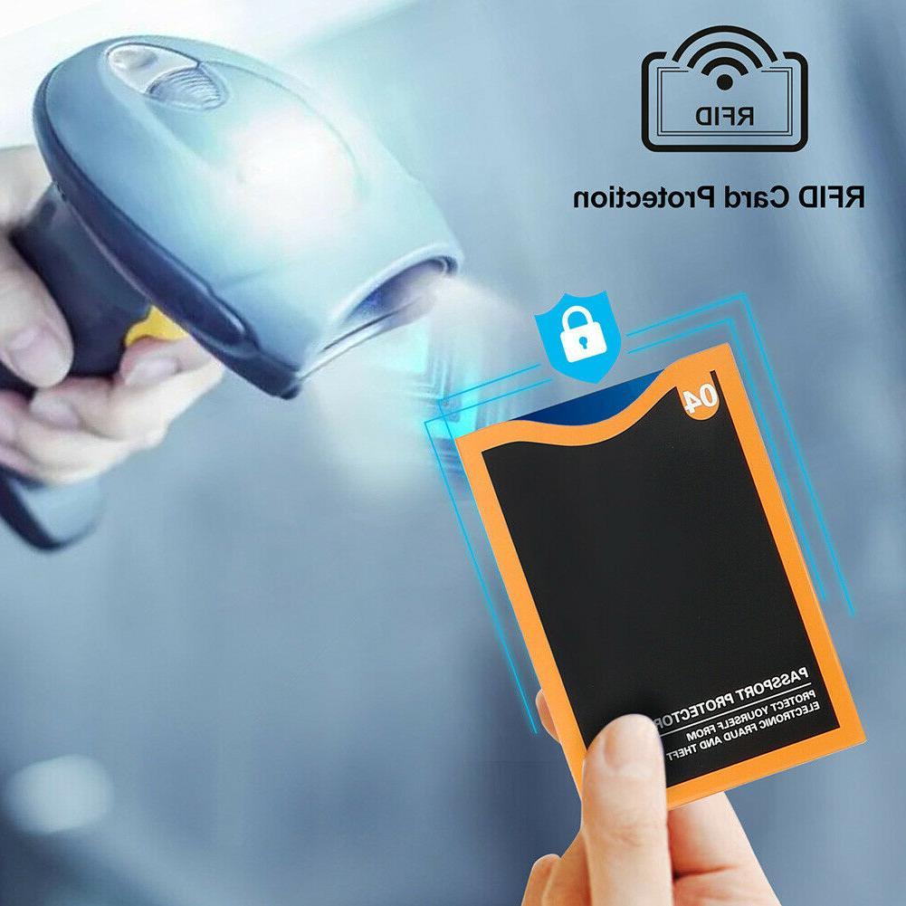 RFID Blocking Credit 5 Protector Theft