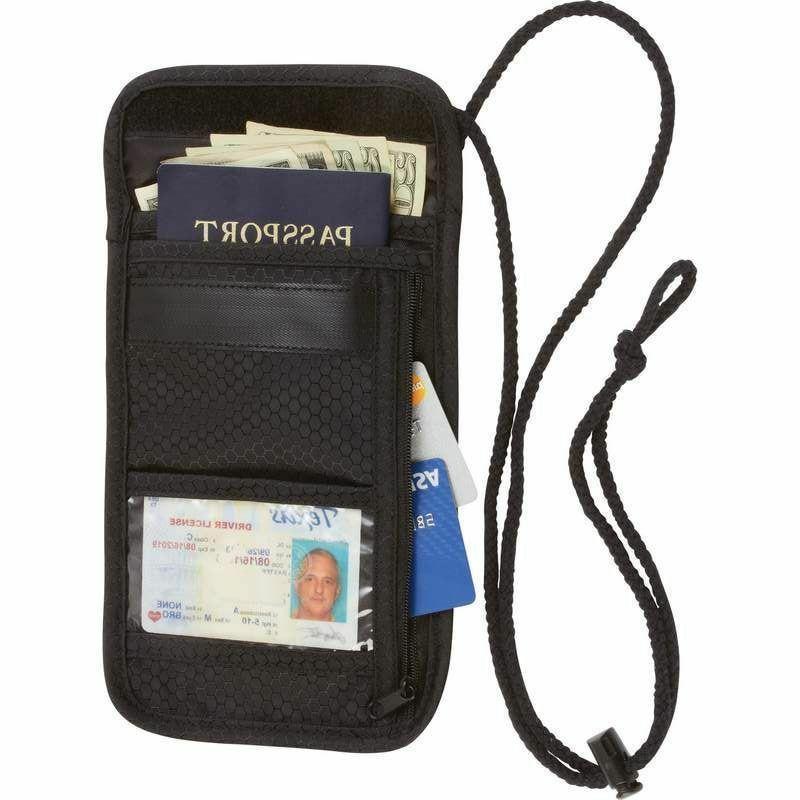 secret security neck strap bag