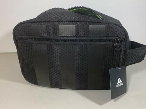 adidas / Dopp Accessories-Travel-Makeup Bag Black NWT