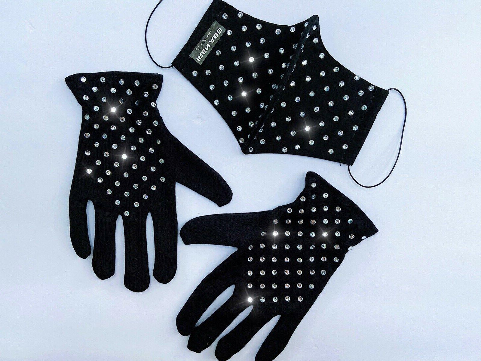 Women's Fashion Mask Set Kit Rhinestones