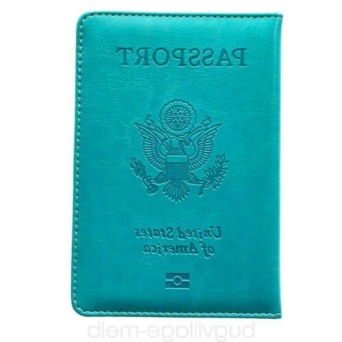 Travel Passport Holder Cover