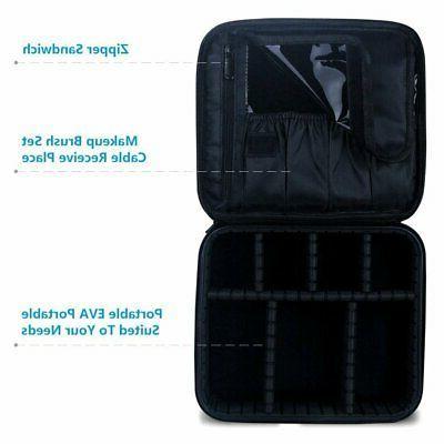 Cosmetic Organizer Portable accessories- Black