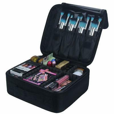 Travel Makeup Train Case accessories- Black