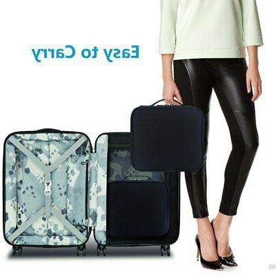 Travel Train Case Cosmetic Organizer Portable accessories-