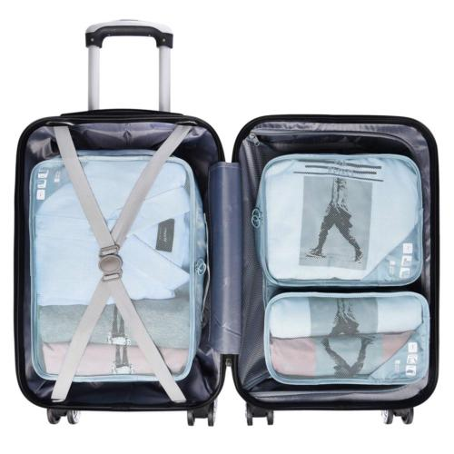 JJ POWER Travel Packing Cubes, Luggage Organizers Clothes Ba