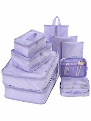 travel packing cubes set toiletry kits bonus