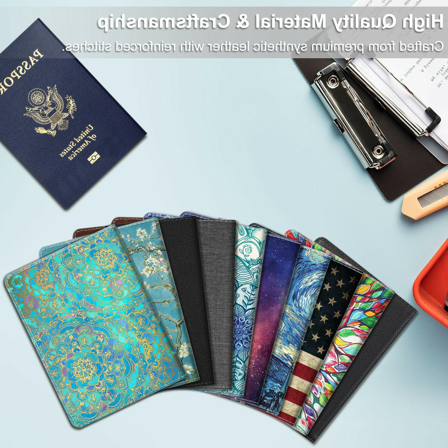 Holder RFID Blocking Leather Case