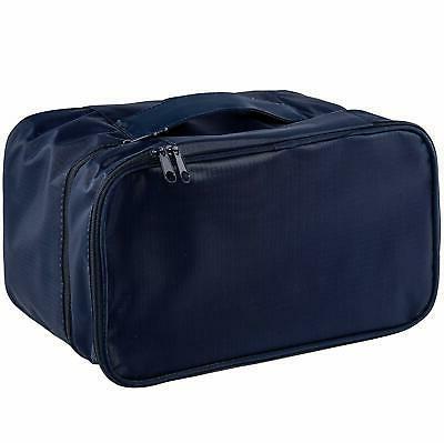 Travel Underwear Organizer, POWER Large Compartment Double