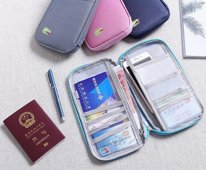 Travel Family Passport Holder Accessories Bag