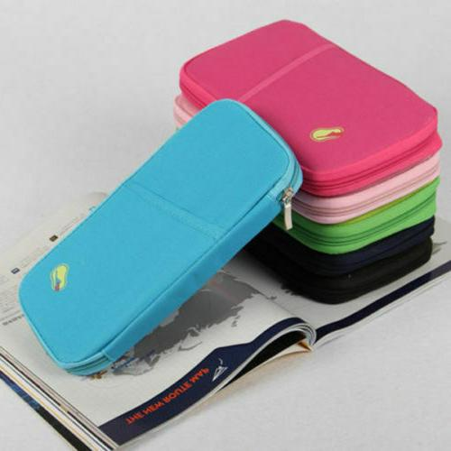 Travel Wallet Family Holder Accessories Bag US