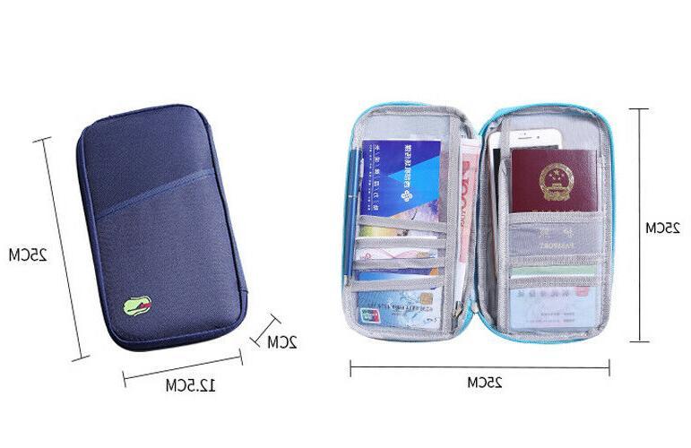 Travel Wallet Family Holder Bag