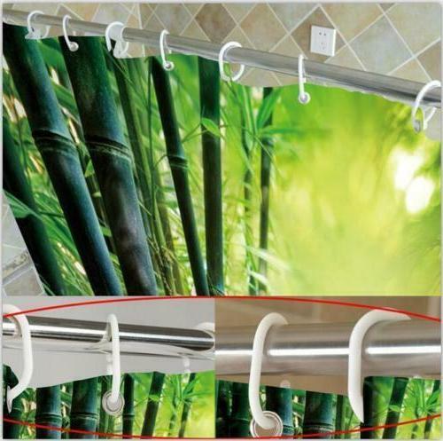 Tropical Beach Life Travel Shower Curtain Bath Accessory