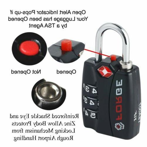 Forge TSA travel Locks 4 Alert Indicator