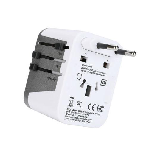 4 Travel Adapter Universal