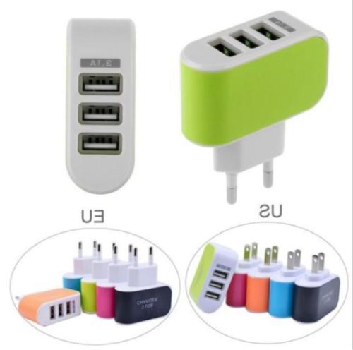 US/EUPlug Adapter 3.1A 3 Accessories