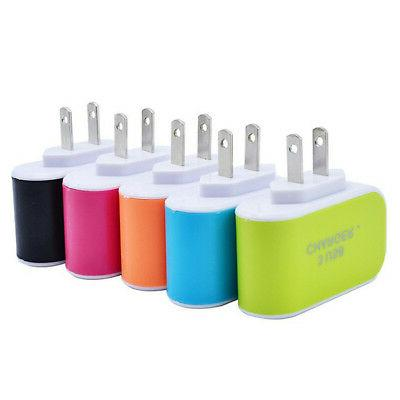 US/EUPlug Wall Adapter Charger 3.1A Accessories