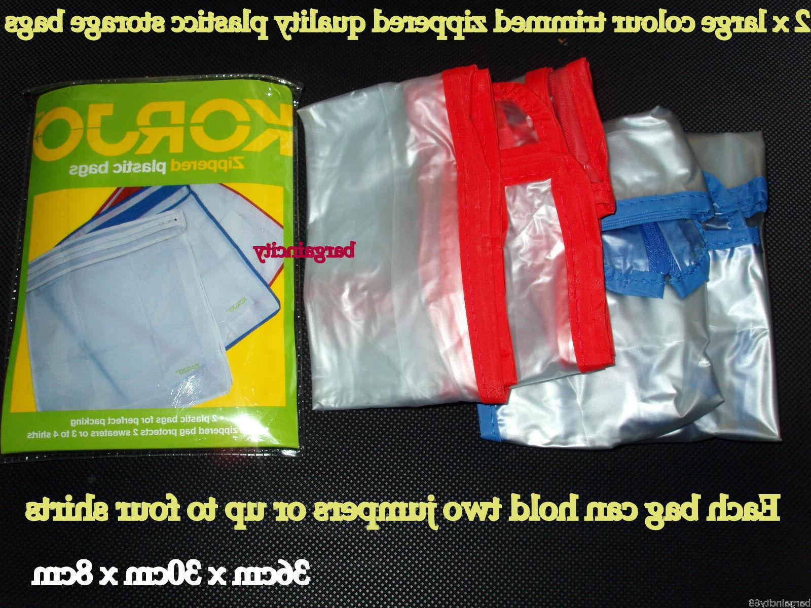 Korjo ZPB23 Zipped Packing Luggage Clothes Shoe Storage