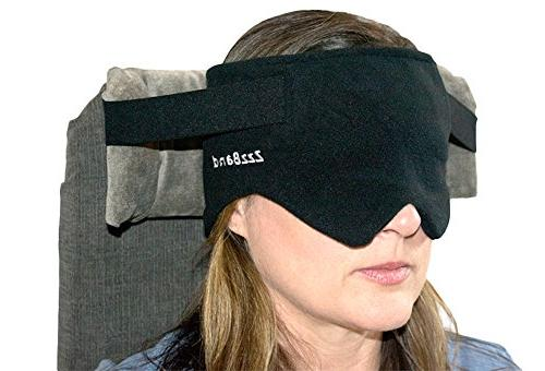 ZzzBand - Pilot Travel Pillow The to One Black Patented