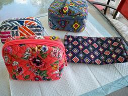 Vera Bradley lot of 4 - small accessories - cosmetic travel