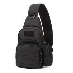 Men's Messenger Travel bag Hiking Shoulder Sling Chest Bag C