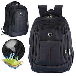 Men's Travel 17inch Laptop Backpack Shoulder Bag Hiking Scho
