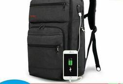 Men Softback Laptop Backpack School Travel Business Essentia