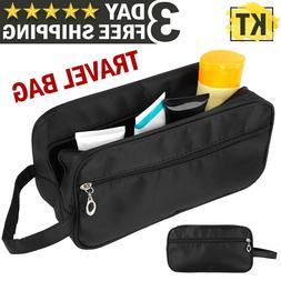 Men Toiletry Travel Bag Shave Kit Organizer Dopp Shaving Acc