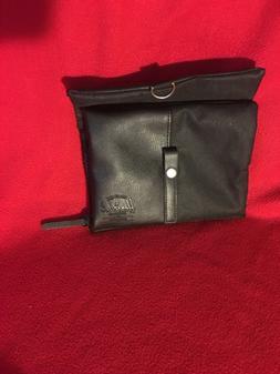 HERSCHEL Mens Unsex Travel Accessories Black Bag Canvas/Leat