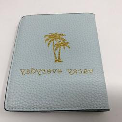 A New Day Mint Green Passport Cover Wallet and Luggage Tag T