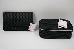 NEW Bundle Beauty 360 Train Case +  Valet Cosmetic Bag Make