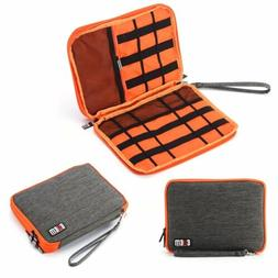 New Double Layer Plus Size Travel Storage Bag Electronic Acc
