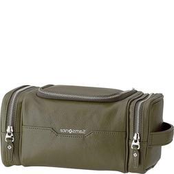 New Samsonite- Leather Travel Accessories Dusk U-Zip Travel