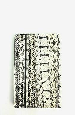 Michael Kors Notebook Medium Genuine Snake Skin Leather Jour