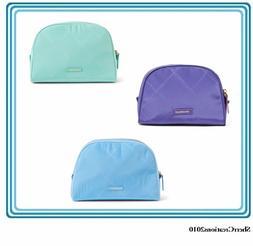NWT Vera Bradley Preppy Poly Cosmetic Bag Makeup Case Travel