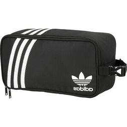 adidas Originals 3-Stripes Shoe Bag - Black Travel Organizer