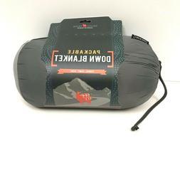 Grand Trunk Packable DOWN Blanket Lightweight Warm 76x40 Tra