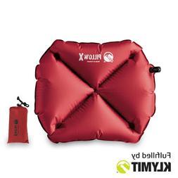 KLYMIT Pillow X Camping Travel Pillow Lightweight Small - CE