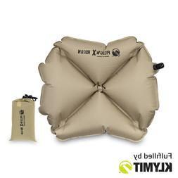 Klymit Pillow X Recon Camping Travel Pillow Lightweight - Ce