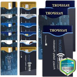 GreatShield Set of 12 RFID Blocking Identity Protection Slee