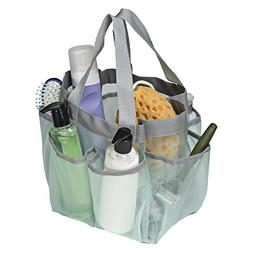 Honey-Can-Do Shower Tote w/ Bottom-Mint Sft-06968 Carry Hand