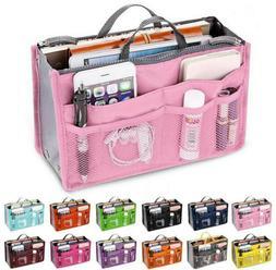 Travel Bag Women Handbag Organizer Large Liner Insert Makeup