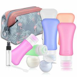 Travel Bottles Containers TSA Approved Silicone Travel Size