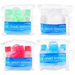April Bath Shower Travel Kits 5-pc. Sets Health Accessories