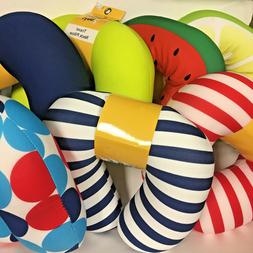 Bargain Buys Travel Neck Pillow, Assorted Colors & Designs,
