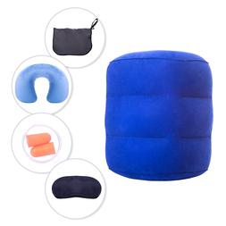 Travel Pillow Neck Pillow Sleep Mask & Ear plugs Kit Travel