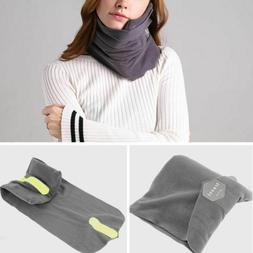 AOOU Travel Pillow Portable Soft Neck Support Perfect  for A