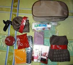 Travel Survival Overnight Kit w/ Toothbrush Toothpaste Socks