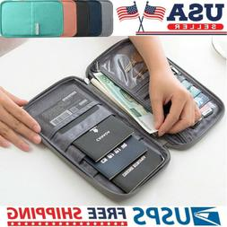 Travel Wallet Family Passport Holder Document Accessories Or